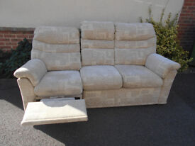 G Plan electric recliner 3 seater sofa. Can deliver