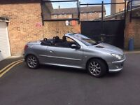 CONVERTIBLE Peugot 206 cc 2004 for sale - Ideal car for the summer - good condition