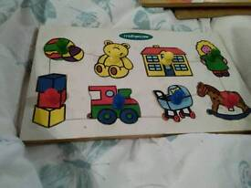 Mothercare Wooden Puzzle, 8 pieces