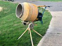 Concrete mixer,Belle 130