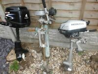 Outboard boat engines for spares /repair