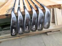 CLEVELAND CG16 IRON SET,5 TO P/W,REG MENS RIGHT HAND,GOOD CONDITION.