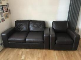 'NEXT ' two seater + arm chair