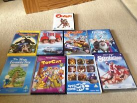 Selection of family DVDs