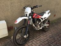 Husqvarna TE 250 road registered