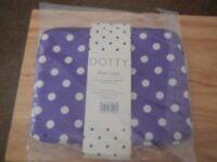 Dotty purple iPad case brand new