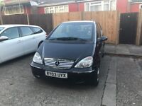 Mercedes A140 LWB Auto - Black, good condition but gearbox fault
