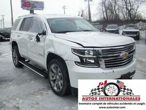 2016 Chevrolet Tahoe LTZ 4X4 V8 5.3L FULL EQUIPPE 7 PASSAGERS MA