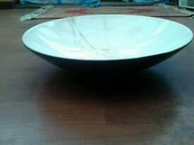 "NO TEXTS PLEASE. JOHNSON BROS MOONGLADE 14"" BOWL. MINT CONDITION. OFFERS ON £30."