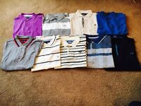 Men's polo shirts all size M, Fred Perry, Tommy Hillfiger, Henry Lloyd , addidas