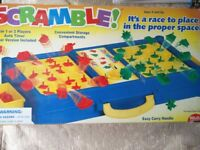 Scramble Game – Hilco. - For 1 or 2 players, Suitable for ages 5+