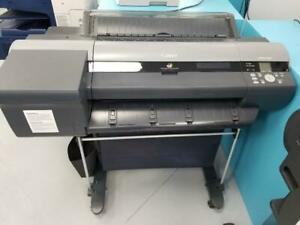 24 Canon imagePROGRAF iPF6400 6400 Large Format 12-Color Graphic Arts Printer with stand