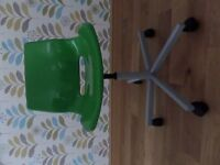 Ikea green immaculate office chair for sale