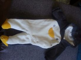 snowsuite- penguin 0-3month (62cm)