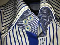 Men's Blue stripe shirt