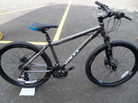 "Mtrax Dacite Mountain Bike Brand New Lightweight Alu Hydraulic Disk Brakes Size 20"" Located Bridgend"