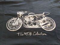 Gents & ladies MOB ministry of bikes tshirts from £5