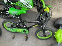 """Apollo lovely child's bike 14"""" wheels only £15 bargain"""