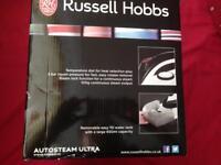 Russel Hobbs auto steam ultra iron 2400watts brand new
