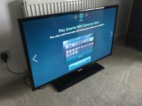 """Samsung 40"""" smart internet LED HD tv with freeview. Rrp £700!"""