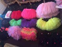 New Tutu Skirts Various Designs Sizes Colours, etc.,
