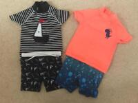 6-9 month swimwear sets for Boys