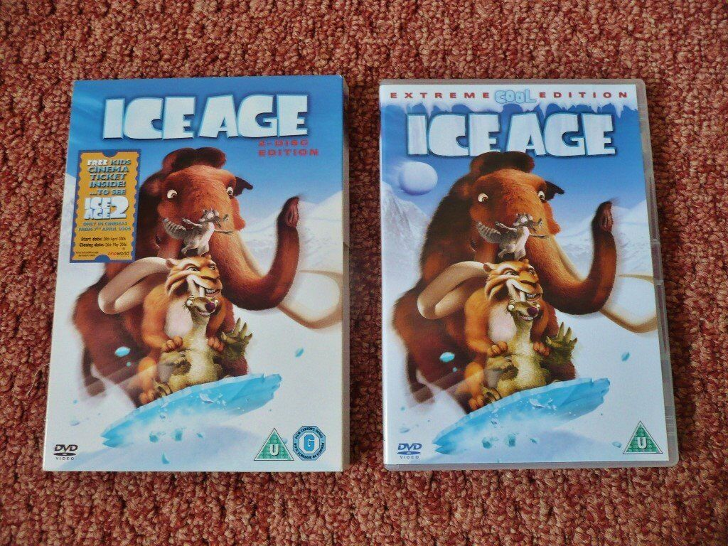 Ice age extreme cool edition 2 dvd disc dvds childrens / family.