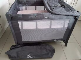 Baby Elegance Double Layer Travel Cot