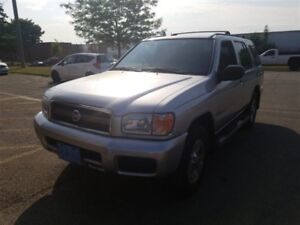 2002 Nissan Pathfinder CHILKOOT EDITION, 106OOO KMS