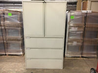 (a3) cabinet office filing cupboard storage draws tall metal free delivery possible