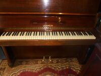upright piano by leswien