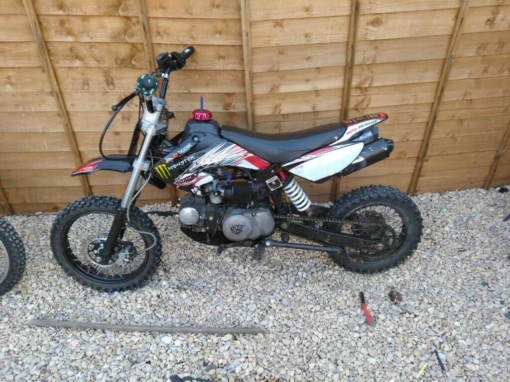 125 pitbike with upgrades | in Barry, Vale of Glamorgan | Gumtree