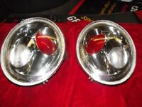 NEW AND USED BMW MINI R50 R52 R53 HEADLAMPS AND REAR LAMPS HALF PRICE ALSO F56 AND R56