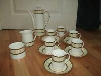 Elizabethan Cavendish coffee set, 14 piece set