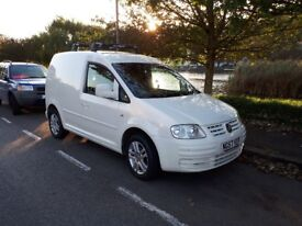 VW Caddy Van White