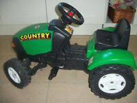 Child's tractor