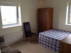 AMAZING DOUBLE ROOM IN A MODERN FLAT JUST 4 MINS FROM MILE END STATION!