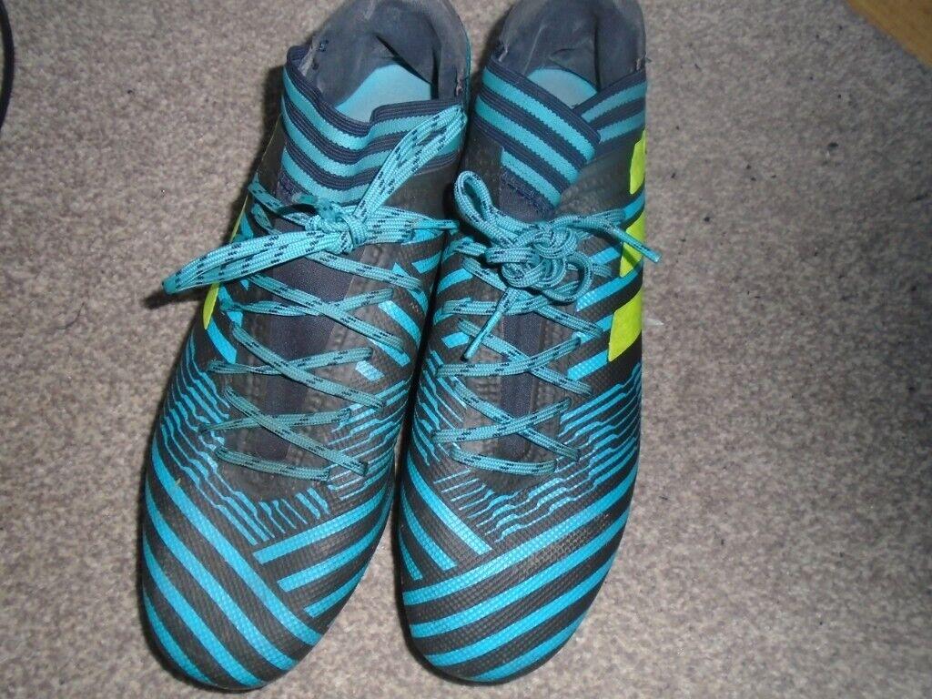 Mens footballl boots Adidas Nemeziz size 9 | in Hull, East Yorkshire | Gumtree