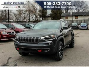 2019 Jeep Cherokee L PLUS, SUNROOF, LANE DEPARTURE WARNING, APPL