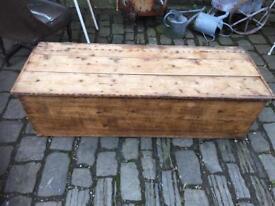 Victoria pine bedding box ( in need of restoration)
