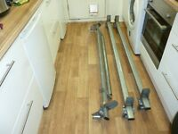 Aero tech ford transit roof rack with rear roller