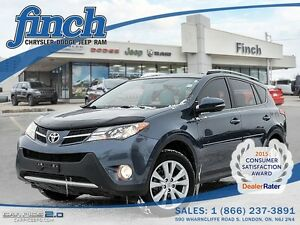 2013 Toyota RAV4E***AWD,Leather,Sunroof,B-up Cam***