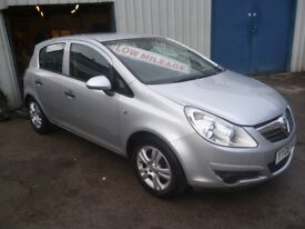 Vauxhall CORSA Breeze,5 door hatchback,FSH,2 previous owners,2 keys,runs and drives as new,only 47k