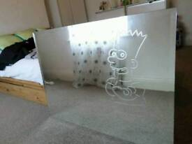 Large Bart Simpson Mirror - Collectable