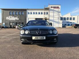 Mercedes-Benz CL 5.5 CL600 2dr£9,995 p/x welcome RARE 500BHP BI TURBO 2002 (52 reg), 109,000 miles