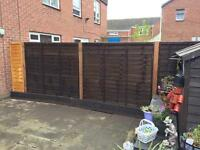 Fencing, supplied & fitted.