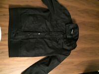Black McKenzie Jacket with Hood - Age 13 - 15 yrs