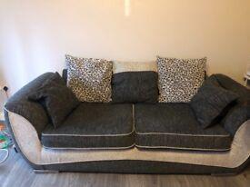 Scs sofas x2