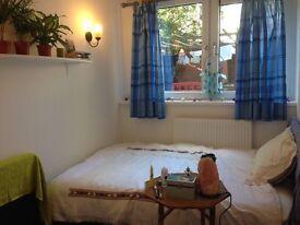 Short term: lovely double room in house w/ garden in Gospel Oak, mins from Belsize Park tube