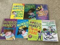 New Horrid Henry book collection